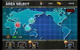 Metal Slug Defense Windows Mission selection screen on the world map