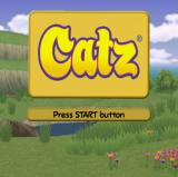 After an animated sequence the game's title screen appears