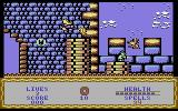 Wizard Willy Commodore 64 Level Four