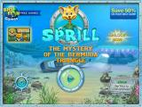 Sprill: The Mystery of the Bermuda Triangle iPad Title and main menu