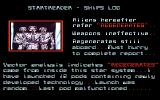 CyberGenic Ranger: Secret of the Seventh Planet DOS Star ship log #2