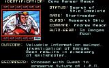 CyberGenic Ranger: Secret of the Seventh Planet DOS The hero now must go grab the remaining pods around the galaxy