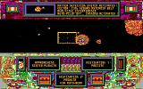 CyberGenic Ranger: Secret of the Seventh Planet DOS Being hit by an asteroid