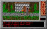 Dismal Passages: Part I - The Wicked Curse DOS Oh dear, while I looked for my key settings, the Scarecrow killed me.