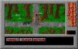 Dismal Passages: Part I - The Wicked Curse DOS Another death scene, now in the fangs of a wolf, equally effective.