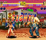Fatal Fury 2 Sharp X68000 Big Bear's stage