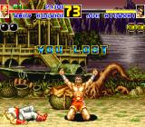 Fatal Fury 2 Sharp X68000 Lost on Joe Higashi's stage