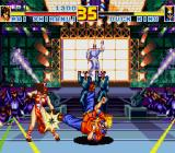 Fatal Fury Special Sharp X68000 Duck King showing Mai some breakdancing