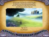 Avalon Legends Solitaire iPad This screen shows what chapter you are in