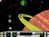 Moonsweeper ColecoVision Flying through space