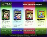 3 Hoyles: Card, Casino and Board Games Windows Each game advertises the other two games in the package as it exits