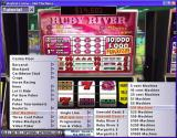 Hoyle Casino Windows This shows the Go To option in use and how one slot machine can be counted as twelve games