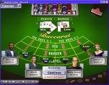 Hoyle Casino Windows The Baccarat table.