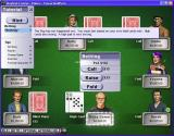 Hoyle Casino Windows Playing poker. This shows some of the tutorial options that are standard to all games in this product