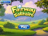 Fairway Solitaire iPad Title screen and play button