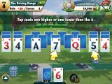 Fairway Solitaire iPad Ready to start playing. You are given some instructions.