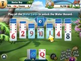 Fairway Solitaire iPad You are introduced to water hazard cards