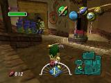 The Legend of Zelda: Majora's Mask Nintendo 64 Exploring the cozy, picturesque streets of Clock Town