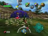The Legend of Zelda: Majora's Mask Nintendo 64 Lovely colors and hearts just walking around!..