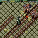 Final Zone Sharp X68000 Shooting bazookas