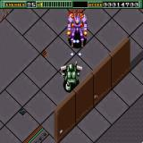 Final Zone Sharp X68000 A mech comes charging at me