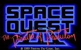 Space Quest III: The Pirates of Pestulon DOS Title Screen