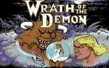 Wrath of the Demon Commodore 64 Loading Screen