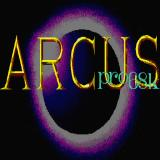 Arcus Sharp X68000 Title screen