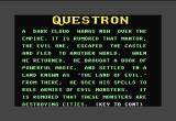 Questron Commodore 64 You only get this when starting a new character.