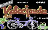 Velocipede Commodore 64 Title Screen