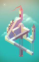 Monument Valley Android Many of the puzzles are based around optical illusions.
