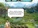 Magic Heroes: Save Our Park iPad The characters talk