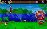 Wizkid: The Story of Wizball II DOS Collect those coins quickly!
