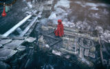 Woolfe: The Red Hood Diaries Windows Red uses a raft to cross the water.