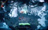 Woolfe: The Red Hood Diaries Windows Red fights some fairies using a whirlwind attack.