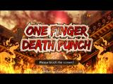 One Finger Death Punch iPad Title screen