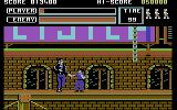 Vigilante Commodore 64 Fighting on the rooftops
