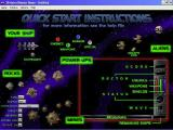 "3D Astro Blaster Windows This is one of the help screens<br>It is very similar to the one used in the game ""Astéroïdes Destroyer"" which is based on an earlier version of Debris"