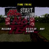 No Fear Downhill Mountain Bike Racing PlayStation The end of a Time Trial