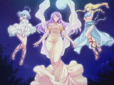 Megami Muriel wa Kyonyū na Osanadzuma DVD Player Muriel, Celeste and Flora, the three goddesses