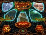 Mystery Riddles iPad Title and main menu