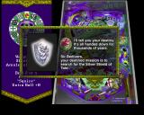 Golden Logres PlayStation Playing the Lands End table<br>In addition to messages like this the player gets audio announcements like 'Enchant The Shield'<br>Information on bonuses is displayed on the banner