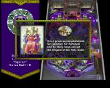 Golden Logres PlayStation Playing the Fisher King table<br>In addition to messages like this the player gets audio announcements like 'Enchant The Shield'<br>Information on bonuses is displayed on the banner