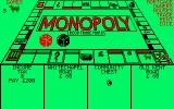 Monopoly Amstrad CPC Moving along the board