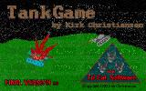 Tankgame DOS Title screen