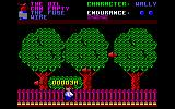 Everyone's A Wally (The Life of Wally) Amstrad CPC Dodging missiles