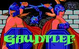 Gauntlet DOS Title screen (EGA)