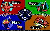 Gauntlet DOS Choose your character (EGA)