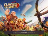 Clash of Clans iPad Main/loading screen.