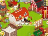 Hay Day iPad Most buildings produce specific items for the player. The dairy produces various dairy products from milk.